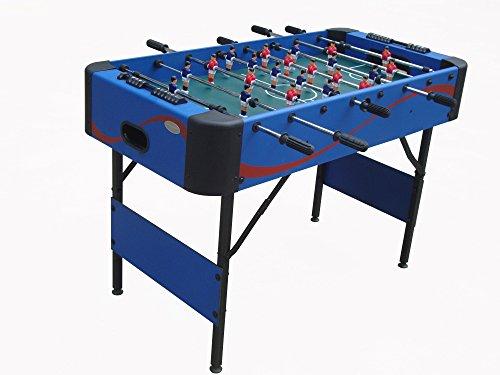 Gamesson Kids '4' Roma II (telescópico) Plegable Mesa de fútbol, Azul, M