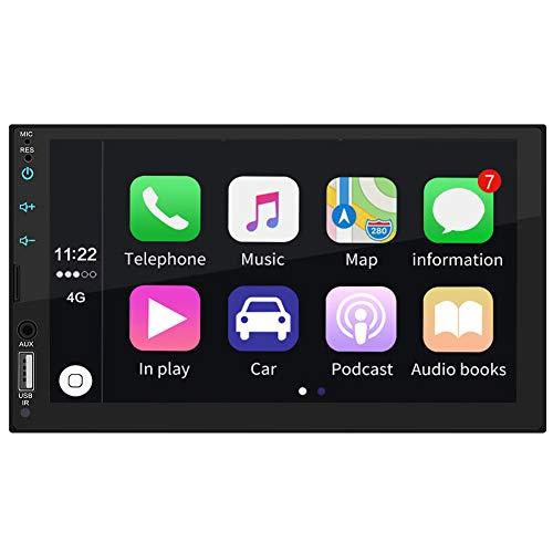 MSG ZY dubbel-Din-autoradio - 7 inch touchscreen autoradio videospeler met Bluetooth WiFi GPS-navigatiesysteem