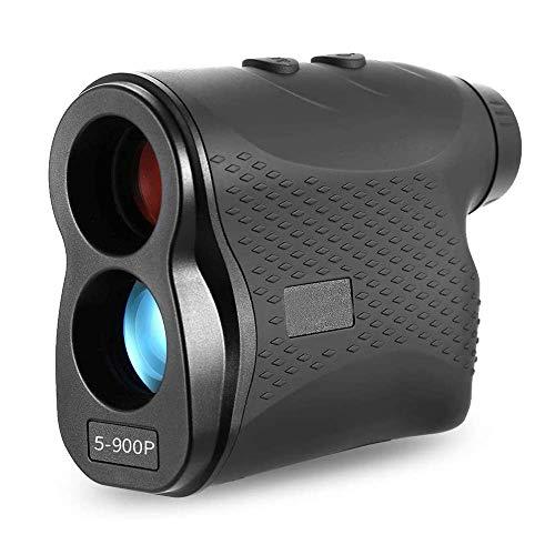 Drohneks Golf-Entfernungsmesser, 600/900/1200/1500 Meter Entfernungsmesser, Entfernungsmessobjektiv Einstellbarer Jagd-Monokular-Teleskop-Entfernungsmesser, Außen-Entfernungsmesser