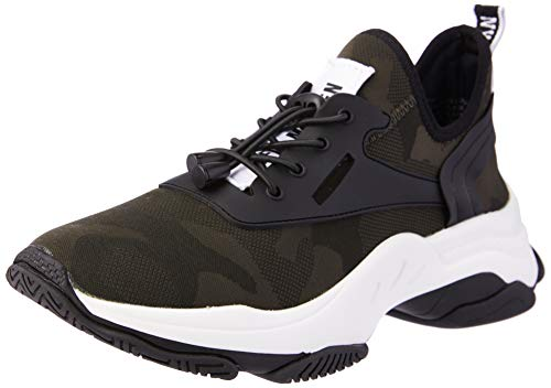 Steve Madden Match Zapatillas para Mujer, Color Camouflage, 24