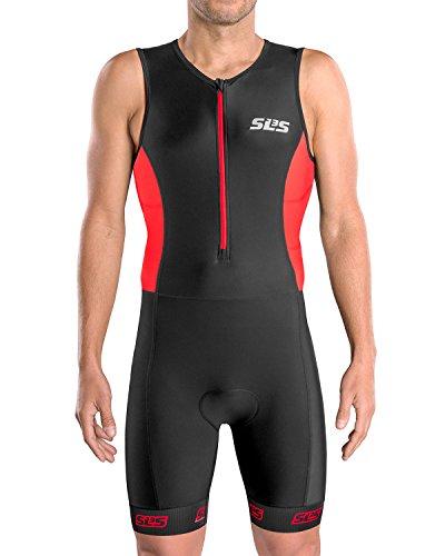SLS3 Triathlon Suit Man - Tri Suits - Trisuit Triathlon Men - Men's Triathlon Trisuits FRT – Relaxed Fit - Designed by Athletes
