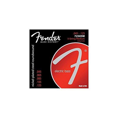 Fender 250 nichelato placcato Super Bass 45-125 5 String45-125