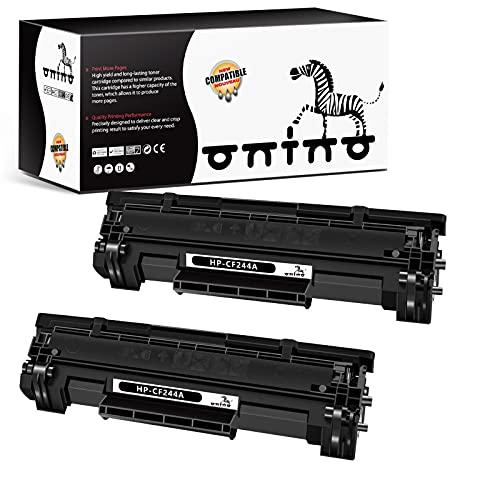 ONINO Cartuccia Toner Compatibile per HP CF244A 44A per HP Laserjet Pro M15w M15a MFP M28w MFP M28a Stampante (2 pcs)