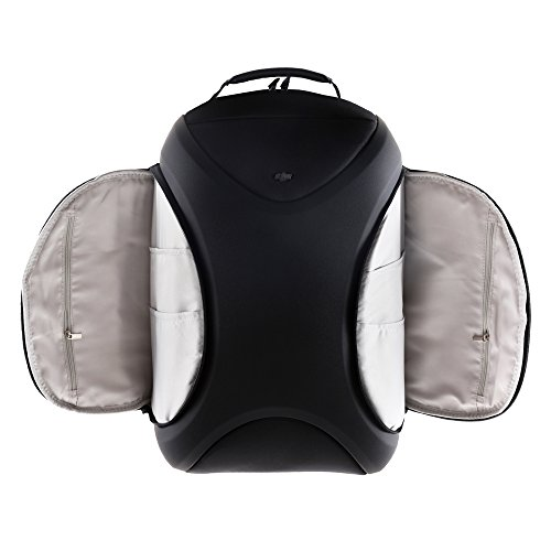 DJI Multifunctional Backpack for Phantom 2, Phantom 3, Phantom 4, Series Quadcopters, Water Resistant, Soft Lining Material Protects, Hold a 15-inch Laptop (CP.QT.000695)