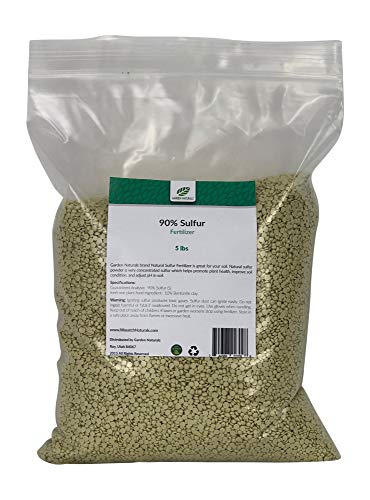 90% Sulfur Prill Fertilizer by Garden Naturals (15 Pounds)