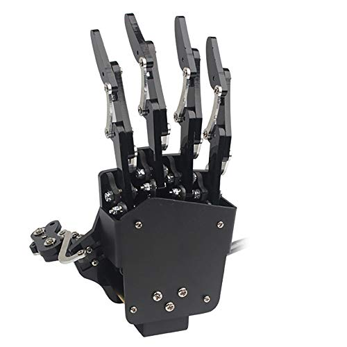 Robot Hand Five Fingers Solely Movement Bionic Robot Mechanical Arm DIY(Right Hand)