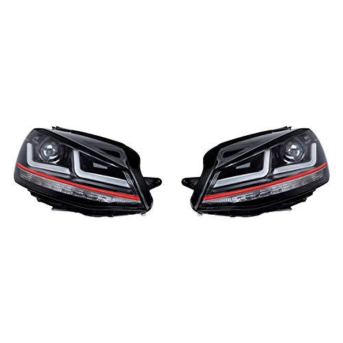 Osram Ledriving Golf 7 LED Scheinwerfer, GTI Edition als Halogenersatz zur Umrüstung auf LED, LEDHL103-GTI, für Linkslenkerfahrzeuge (1 Komplett-Set)