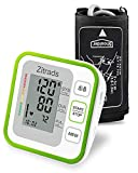 Blood Pressure Monitor Upper Arm, Fully Automatic Accurate Digital BP Monitor for Home Use with Cuff, Clear Display with Average Function, Double User with 2x120 Groups Memory