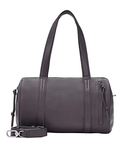 Liebeskind Berlin Grace Bowling Bag Handtasche, Medium (19.5 cm x 30 cm x 13.5cm), thunder grey