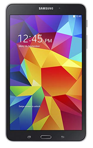 Samsung Galaxy Tab 4 8' Touchscreen WiFi + 4G LTE Verizon Tablet 16GB Dual Camera, Android OS - Black (Renewed)