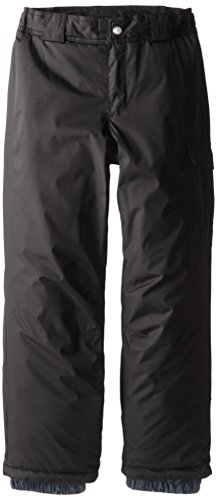 White Sierra Girl's Cruiser Snow Pant (Black, Large)