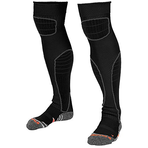 Stanno Hohe Schlag Gk Socke GröÃe Xl (Schwarz / Anthrazit)