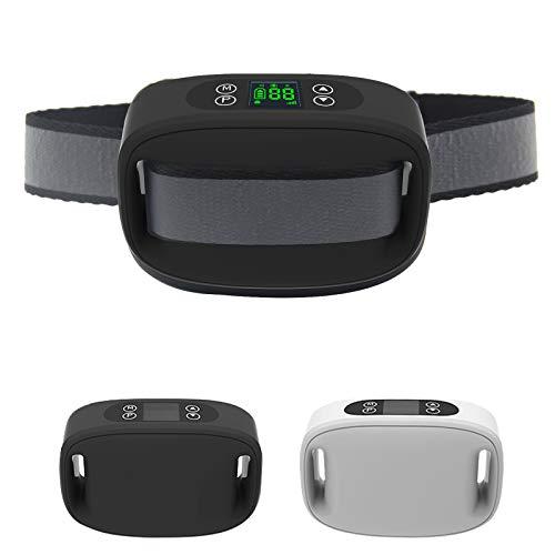 SIXIN Cerca eléctrica para Perros con GPS, Sistema de contención de Mascotas en sobre el Suelo, Resistente al Agua IP66, Ajuste de Distancia de corrección de Tono de Choque Máx. 1000M (Negro)