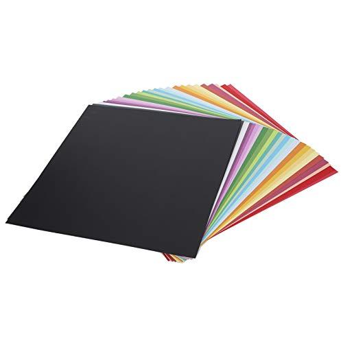 Papel de fondo de bricolaje, papel de color cuadrado Decoraciones de varios colores diversos para imprimir patrones para Origami de bricolaje