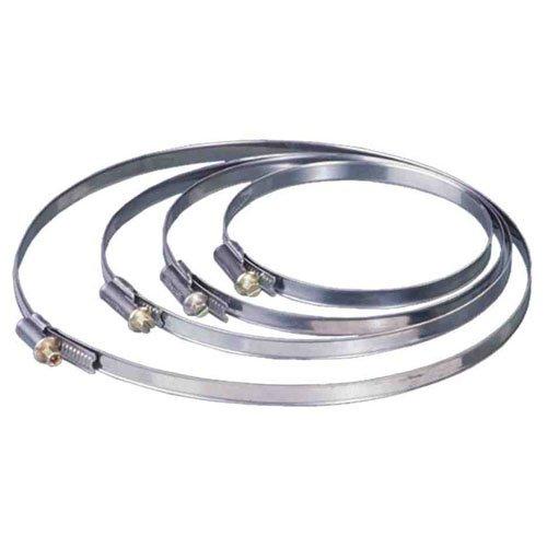 Collier/bride métallique Vents pour tube/extracteur 190 - 210 mm (200 mm)