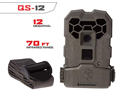Stealth Cam 12.0 Infrared Megapixel Trail Camera Grey, 7.8 x 11.5 x 3.4 inches