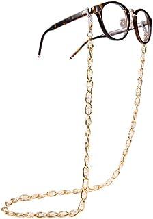 سلسلة النظارات قناع شريط حبل قصير 3 في 1 أزياء النظارات الشمسية حامل نظارات أنيقة للنساء