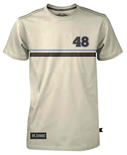 Harley-Davidson Mens Black Label Racing Stripe Short Sleeve T-Shirt Tan 30291531