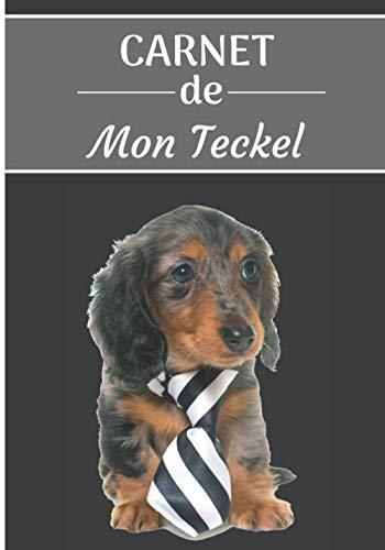 CARNET de Mon Teckel.: Carnet de santé pour chiens | 119 pages, 17cm x 25cm | Idéal pour les propriétaires d'un Teckel |