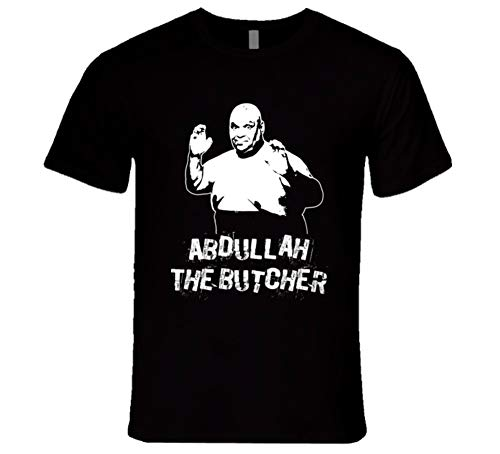 Abdullah The Butcher Retro Legends of Wrestling T Shirt 2XL Black