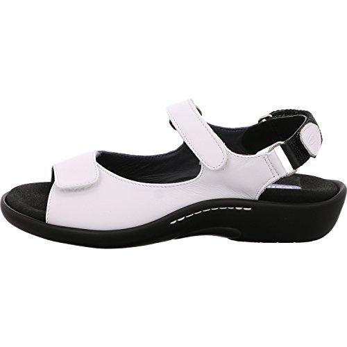 Wolky Comfort Sandalen Salvia - 30100 weiß Leder - 41