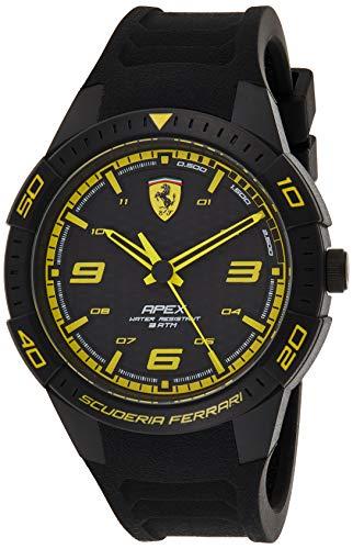 Scuderia Ferrari Reloj Analógico para Hombre de Cuarzo con Correa en Silicona 0830663