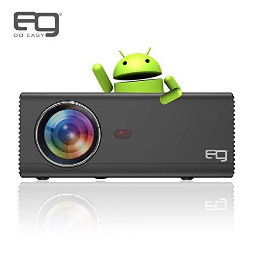 EG 6X Android LED HD 2400 Lumens Projector with 4D Digital Keystone