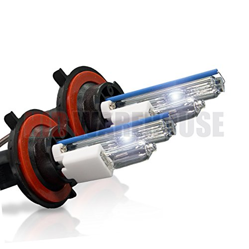 HID-Warehouse HID Xenon Replacement Bulbs - H13 / 9008 6000K - Light Blue (1...