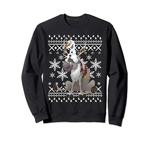 Disney Frozen Olaf And Sven Friends Portrait Sweatshirt