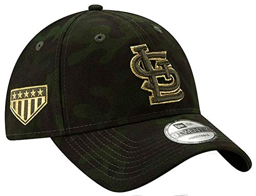 New Era St.Louis Cardinals 2019 MLB Armed Forces Day 9TWENTY Adjustable Hat - Camo