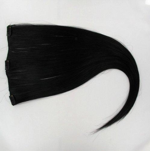 Extensions à clip 60 cm noir 1b