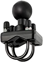 Ram Mount Double U-Bolt Base with 1.5-Inch Ball for Rails from 1 to 1.25 Inches in Diameter