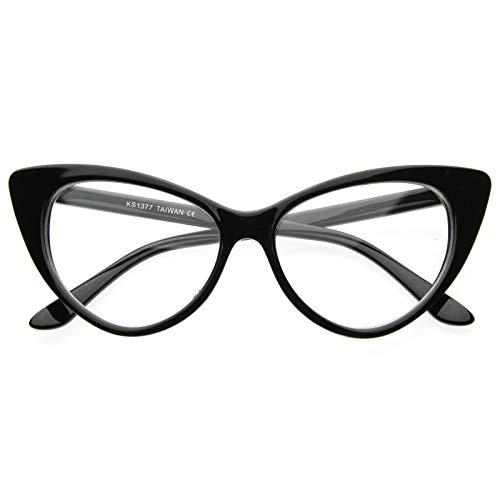 Gafas de ojo de gato retro estilo ojo de gato para mujer