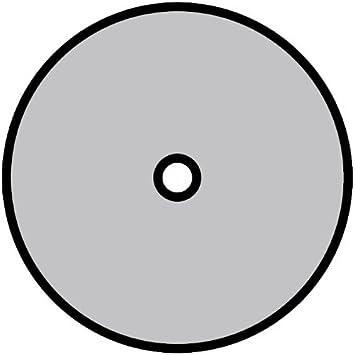 25 St/ück 125mm x 22mm 36 Korn NE-Metalle Metall Universal Klingspor 351144 CS 561 Fiberscheiben f/ür Stahl X-LOCK