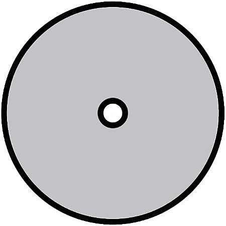 10 Forma de Perforaci/ón CS 565 100 mm x 16 mm 36 Grano Klingspor 23680 Discos de Fibra Vulcanizados