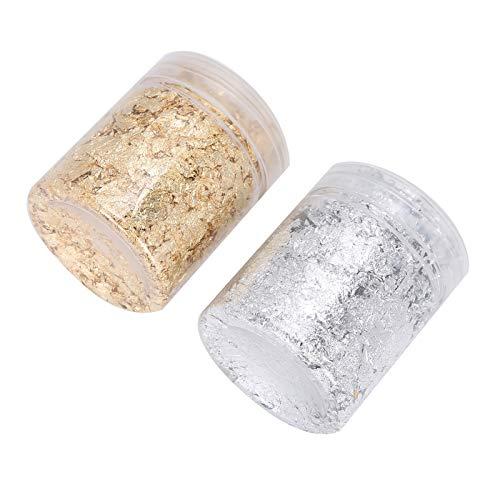 Nail Art Flakes, fácil de transportar, fácil de almacenar, buen estado, pequeño volumen, peso ligero, lámina para bricolaje, para mujer