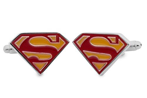 Sologemelos - Boutons De Manchette Superman - Rouge, Jaune - Hommes - Taille Unique