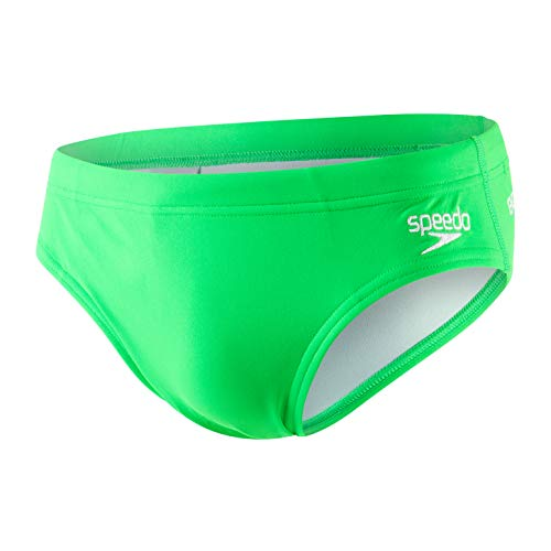 Speedo Essential Endurance + 7cm, Slip da Bagno Uomo, Fluo Green, 32 (IT 46)
