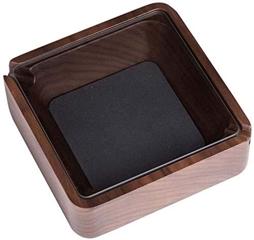 Ceniceros for los cigarrillos de escritorio Cenicero for hombres y mujeres, de madera maciza natural Cenicero Cenicero for fumadores, escritorio Cenicero for espacios de oficina Interiores Habitación
