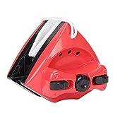 Lavavetri Magnetico Pulitore Elettrici per Finestre Vetrine con Doppio Magnete Spazzola per Pulire Professionale Automatico Vetri Pulisci per Esterni Doccia