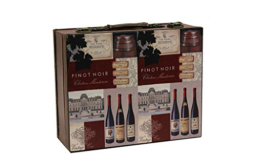 MIMBRE NATURAL Maleta Pinot Noir (37x30x14)
