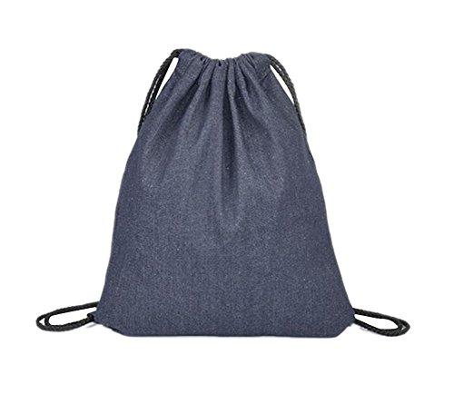 LAAT Bolsa con cordón Bolsa para la Escuela Mochila de Hombro Mochila de cordón
