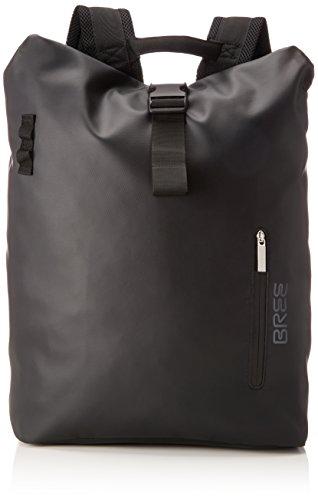 BREE Collection Unisex-Erwachsene Pnch 713, Backpack M Rucksack, Schwarz (Black), 15x42x34 cm