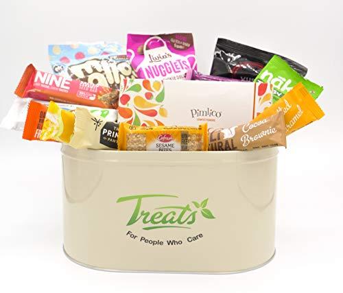 Vegan Chocolate Sweets & Snack Hamper - Perfect Gift - Keepsake Treat Tin - Gluten Free