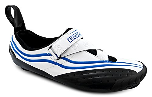 Bont Sub 10 Triatlón Zapatillas de Ciclismo Blanco/Azul Talla 37