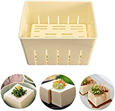 DIY Homemade Tofu Press-Maker Mold Box Plastic Soybean Curd Making Mould Kit with Cheese Cloth