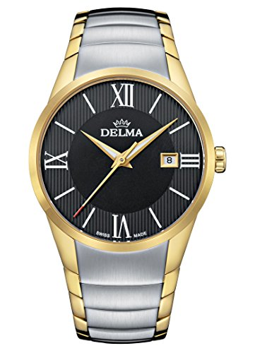Delma Herrenuhr Analog Quarz Metallarmband - 407143