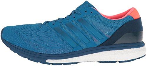 adidas Men's Adizero Boston 6 m Running Shoe, Unity Blue F16/Unity Blue F16/Tech Steel F16, 7 M US
