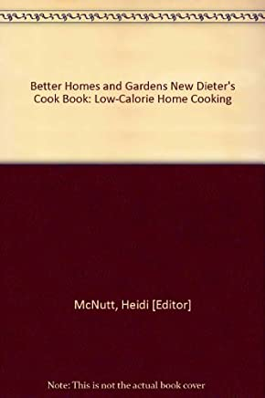 Better Homes and Gardens New Dieters Cook Book