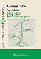 Criminal Law (Examples & Explanations)